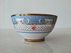 Raoping 4.5inch/5inch/6inch golden ceramic soup bowl