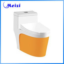 Ceramic s-trap one piece toilet repair
