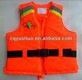 Trabalho marinha colete salva-vidas