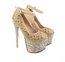 D12743A women sexy fashion high waterproof ladies high heel shoes