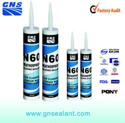 High temperature black rtv waterproof sealant for car silicone sealant gun prices
