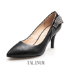 TALINUM Rhineston Bowknot Lady Shoes Fashion High Heel Shoe