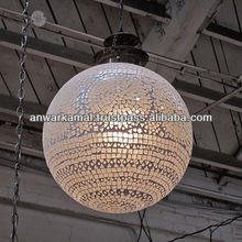 Decorative Hanging Electric Lamp Glass & Brass for Home Decoration and Out Door.in Door Decoration