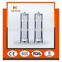 acrylic salt and pepper grinder set/acrylic pepper grinder
