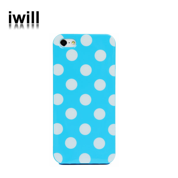 alibaba wholesale polka dotted cell phone case covers for apple iphone 5