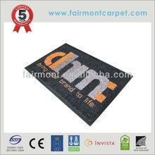 Garage Mat With Vinyl Back AS001, Logo Mat,