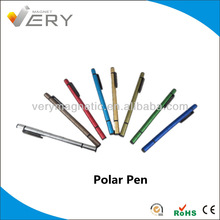 Magnetic Polar Pen With Colorful Color