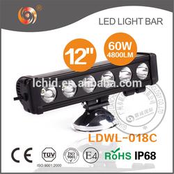 60W led tractor working lights ,4X4 ,Off road ,adjustable 10w/led light bar,tractor,UTV,ATV,Boat,LED bar light