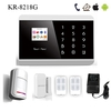 APP control multi-language GSM+PSTN home security control room security equipment (KR-8218G)