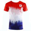Hombres de moda ajuste personalizado seca de impresión t- shirt