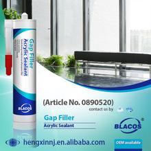 Eco-friendly Wide Adhesion Water Based Acrylic Sealant Gap Filler