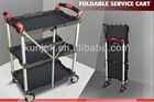 2013 New Product,3 Shelf,Innovation Folding Push Cart