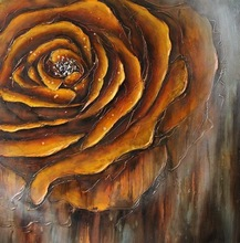 2014 Newest Outer Wall Decoration Modern Flower Painting