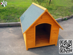 Wooden pet house dog XD 012