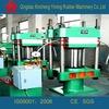 Post type rubber plate vulcanizing press/used machine