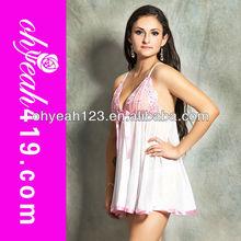 Unique design pink women lace super plus size lingerie