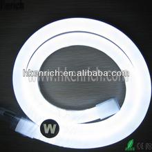 230V Cold White Flex LED Neon Rope Light 1m cut