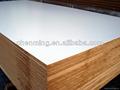 laminado blanco tablero de melamina mdf