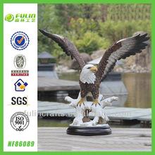 Decorative Home Resin Eagle Figure