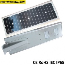 Integrated solar panel/battery/controller/led light epistar chip photovoltaic 300w solar panels