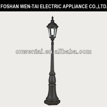 alibaba china park antique aluminum light pole