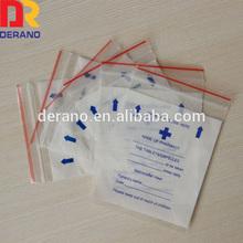 Wholesale Medical/Medicine Ziplock Bag/Small Plastic Bag for Drug/medication