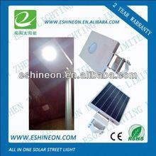 high quality low bay 8w12w15w 5 days led solar garden light with motion