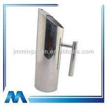 with ice guard small stainless steel water pitcher