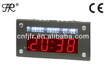 LED Lighted Digital Clock with Urgency Lamp