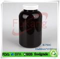 750ml animal bouteille en plastique capsule complément alimentaire bouteille