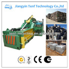 CE hydraulic scrap iron aluminum metal block making machine,scrap aluminum compactor(High Quality)
