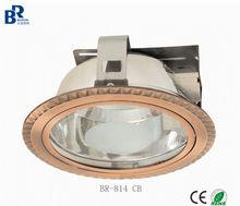 100% quality inspection Newly developed aluminum die-casting 2*E27/PLC 4/6/8 inch down light /Spot light