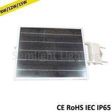 Integrated solar panel led light 6-10 hour sunlight 3-5 days working price per watt solar panels in india