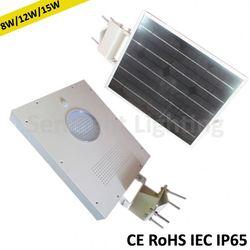 Just need post integral solar led street light system slim solar panel