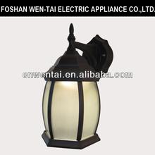 2014 european style sandy black energy saving led wall lamp