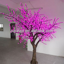 2013 holiday light LED Pink cherry tree light,alling star led lights for trees