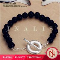 2014 wholesale black bead anklets H229