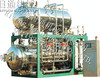 Double layers hot water cycle retort and autoclave machine