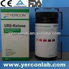 ketone urine dipstick analysis CE ISO FDA