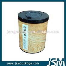 Paper tube tea can packaging Cardboard Herb Tea Canister Tea