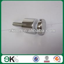 glass standoff adjustable,satin wall mounted standoff pin,m12 threaded standoff