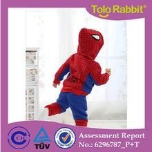 Q1179 Baby Childrens Designers Spider-man Clothing Set