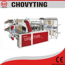 (CHOVYTING)tshirt rolling bag making machine/rolling bag making machine/garbage bag machine