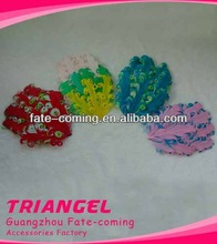 Good Price Mixed Colors New Charming Feather Pads