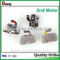 China suministro dental estándar de ortodoncia convertible y no- convertible 1st molar tubos bondable bucal
