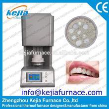 CE Zirconia denture sintering furnace with zirconia crucible for denture processing free zirconia beads