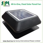 New Inventions! Stainless Steeling Material Solar Attic Fan 12 inch air duct 12 watt Solar Attic Ventilation Fan