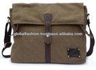 2014 canvas leather executive bag for men leather satchels
