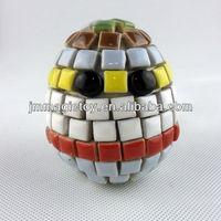 K-FOE 512 DIY Ceramic And Crystal Mosaic Easter Egg Craft