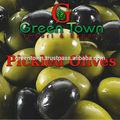 En escabeche olivos en salmuera